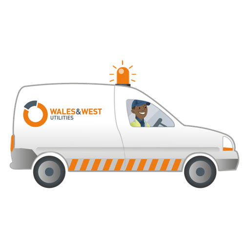 Wales & West Utilties Gas Engineer in Van