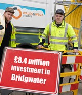 Bridgwater continues to benefit from multi-million-pound investment in gas network