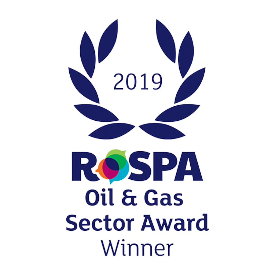 RoSPA Oil & Gas Sector Award Winner 2019